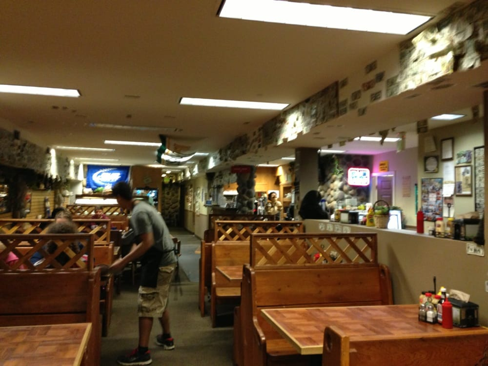 Photo of The Soup Cellar - Leavenworth WA United States. Bench style seating & Bench style seating old world feel. - Yelp