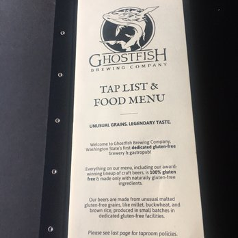 Ghostfish brewing company 177 photos 129 reviews for Fish district menu