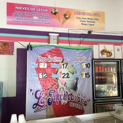 Paleteria Y Neveria La Michoacana Ice Cream Frozen Yogurt