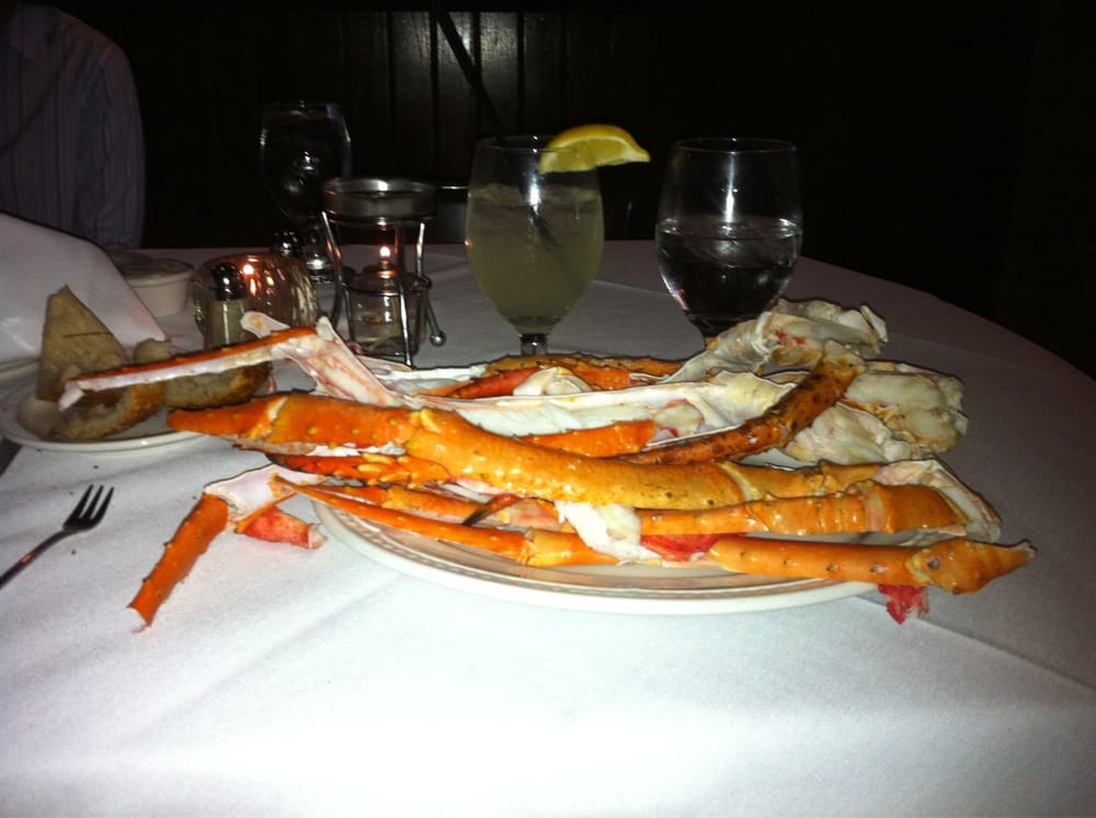 1 5 lbs bristol bay alaskan king crab yelp for Chamberlains fish market grill