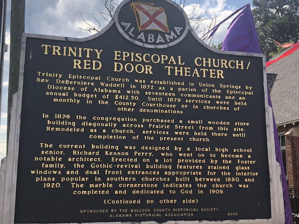 The Red Door Theatre: 101 N Prairie St, Union Springs, AL