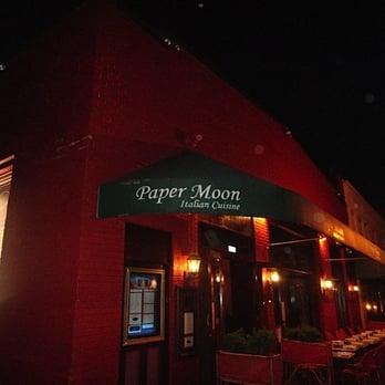 Paper Moon Restaurant Dc Menu