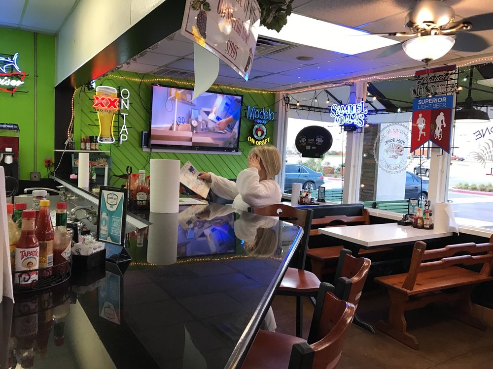 More seating yelp for Fish bone grill dallas