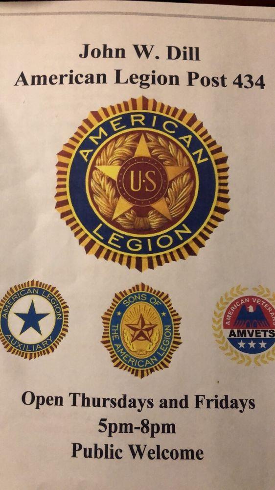 American Legion J W Dill Post 434: 110 E Main St, Brocton, NY
