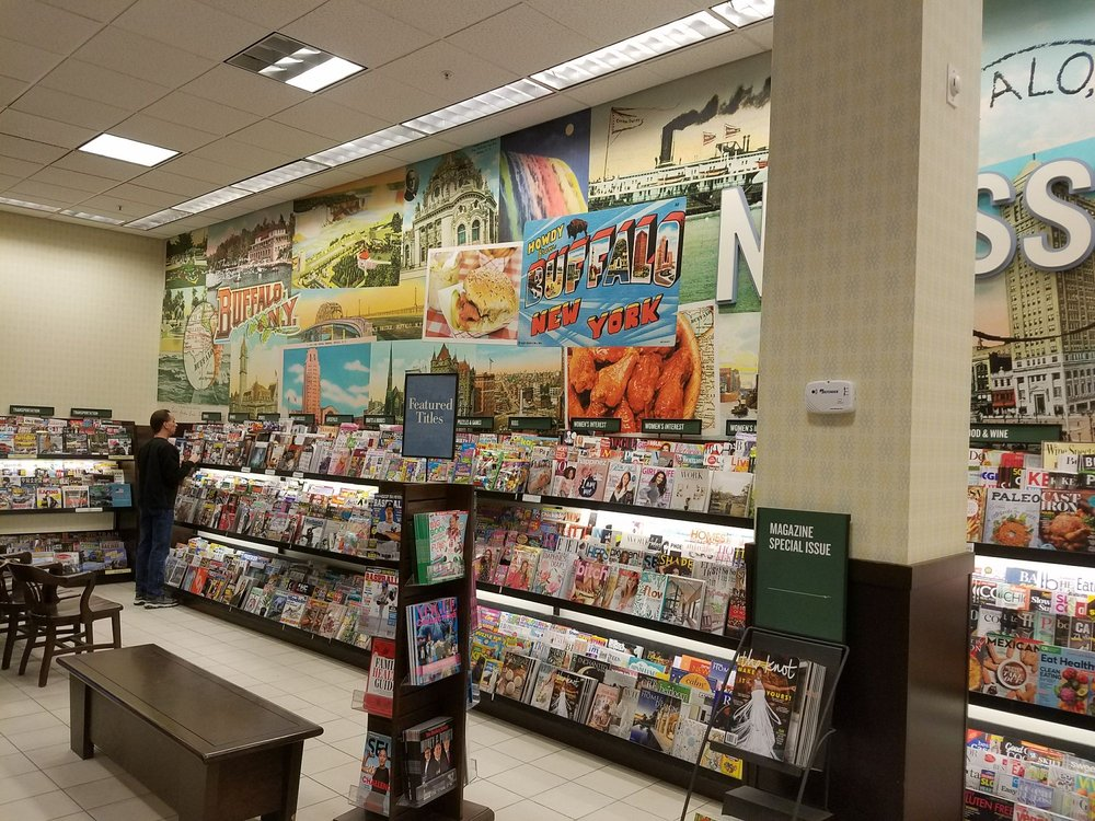 Barnes & Noble Booksellers: 3701 McKinley Pkwy, Buffalo, NY