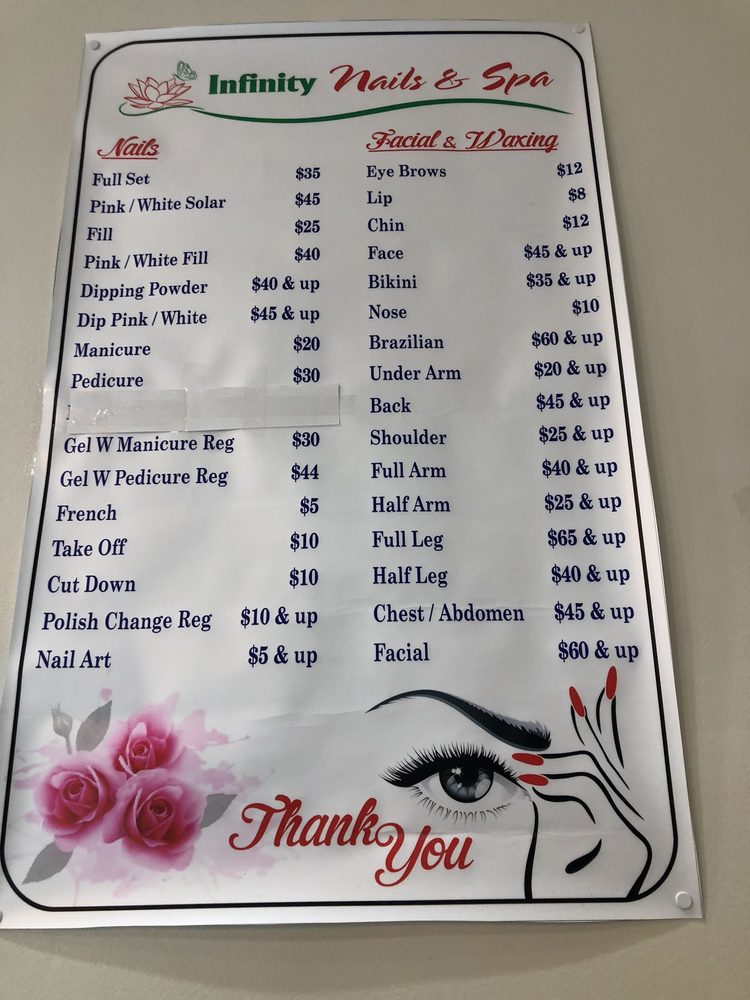 Infinity Spa & Nails: 1800 SW 9th Ave, Battle Ground, WA