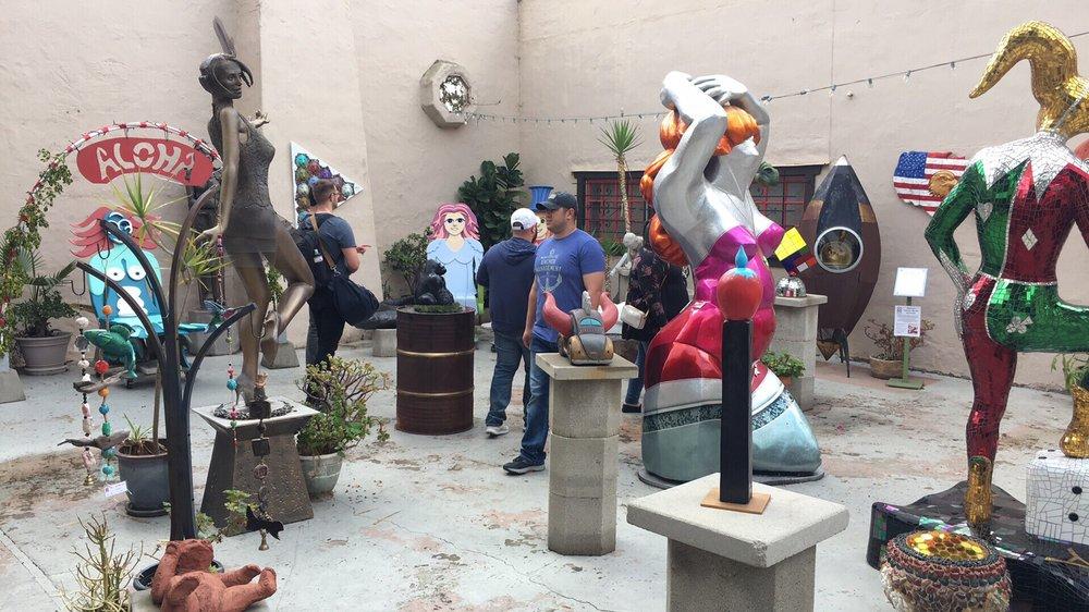 San Diego Sculptors Guild: Spanish Village Balboa Park, San Diego, CA