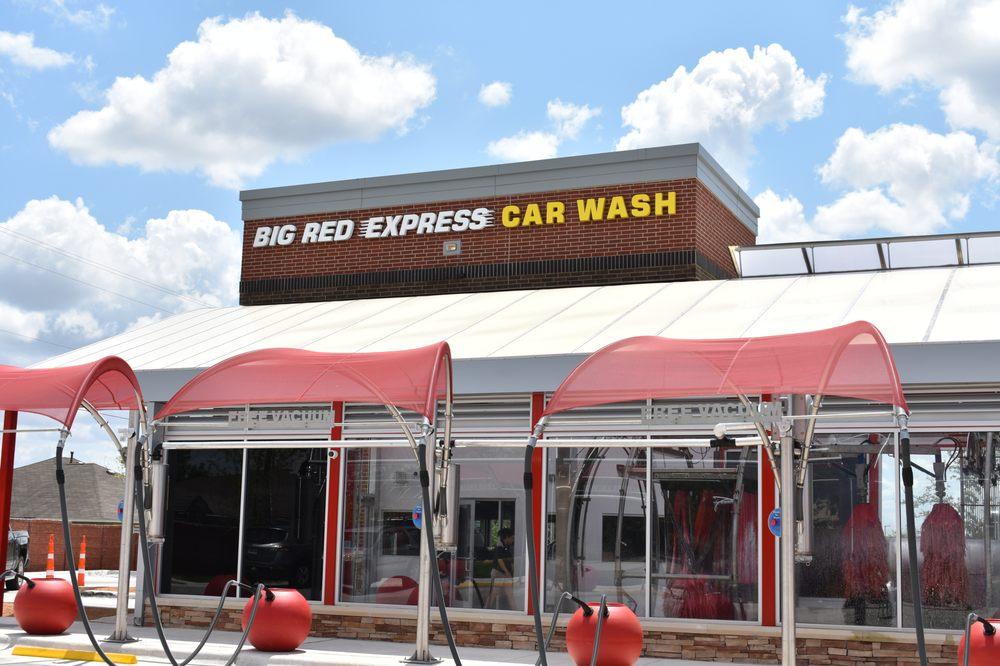 Big Red Express Car Wash: 447 Chris Kelley Blvd, Hutto, TX