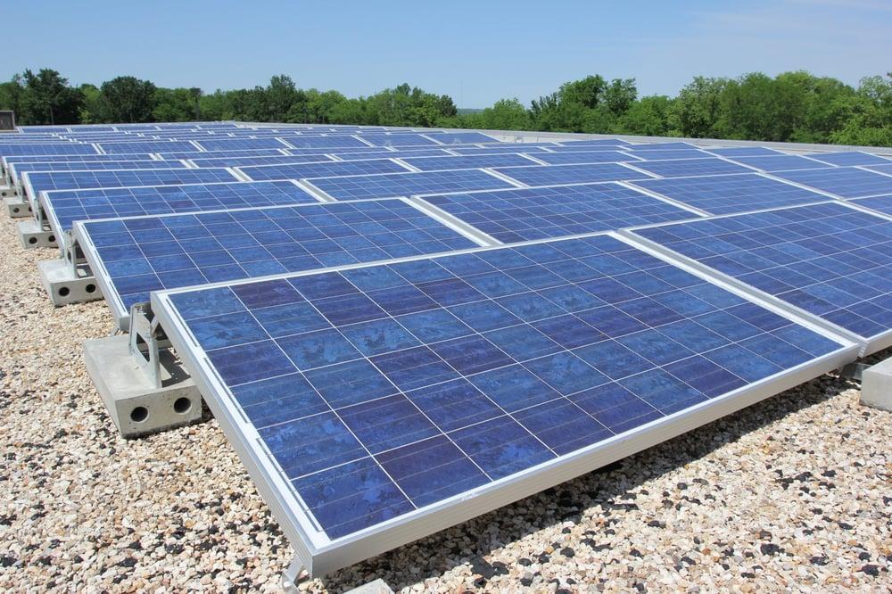 Brightergy solar installation 1617 main st crossroads for Kansas solar installers
