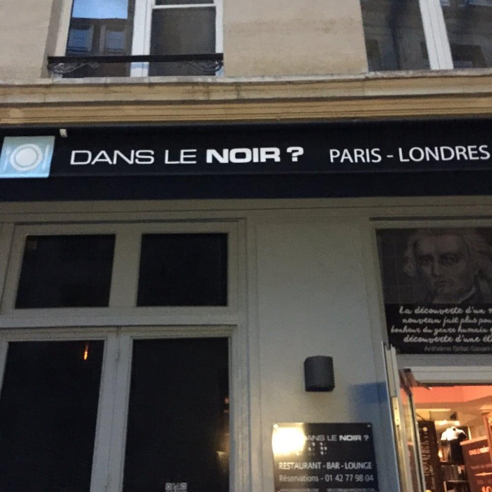 dans le noir 19 photos 166 reviews french 51 rue quincampoix beaubourg paris france. Black Bedroom Furniture Sets. Home Design Ideas