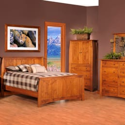 Charming Photo Of Burress Amish Furniture   Elgin, IL, United States. Bordeaux  Bedroom II