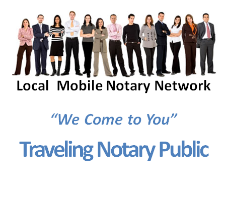Traveling Notary Public: Imperial County, CA