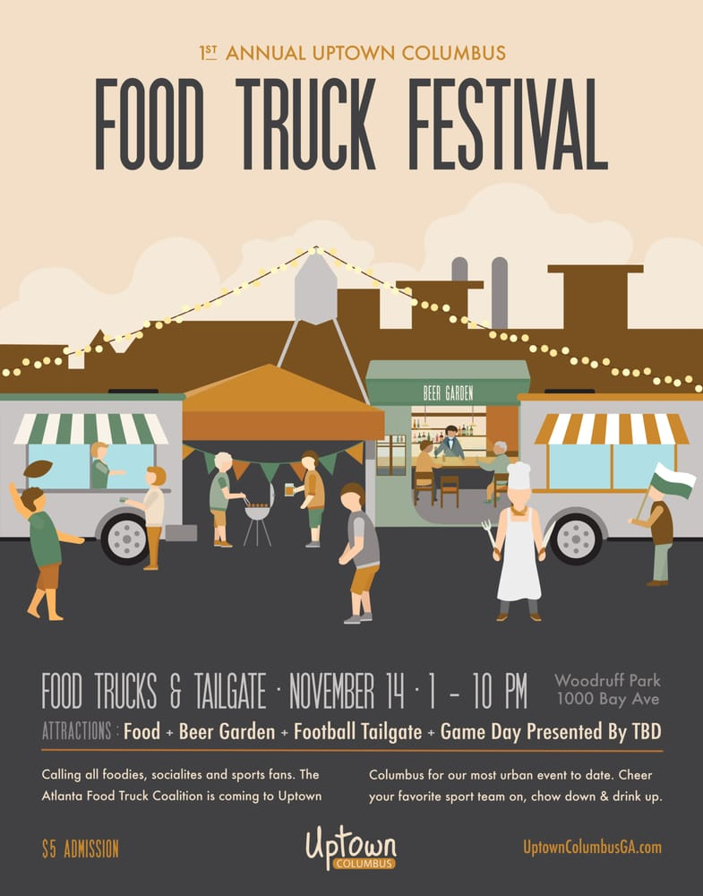 Uptown Food Truck Festival Columbus Ga