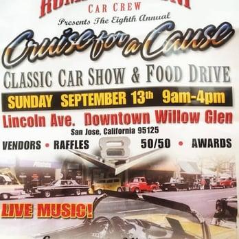Cruise For A Cause Car Show Photos Festivals Lincoln - San jose car show 2018