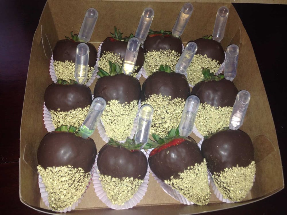Alcohol Infused Chocolate Dipped Strawberries Yelp