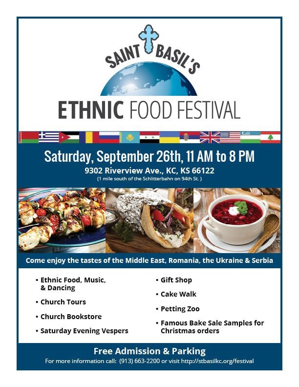 Ethnic Food Festival Kansas City