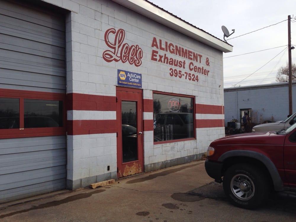 Lee's Alignment & Exhaust Center: 3rd & Main, Calvert City, KY