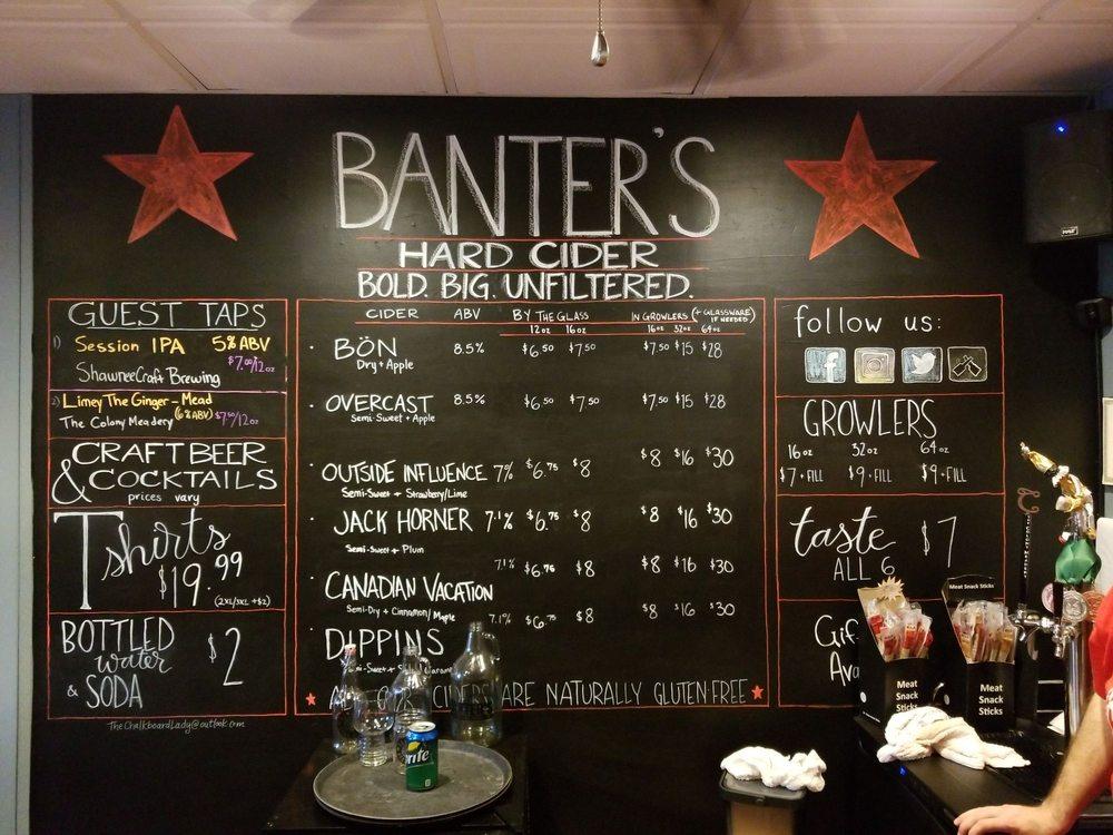 Banter's Hard Cider: 35 N 7th St, Stroudsburg, PA