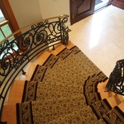 Straight Stair Runner Photo Of Custom Stair Runners   Bohemia, NY, United  States.