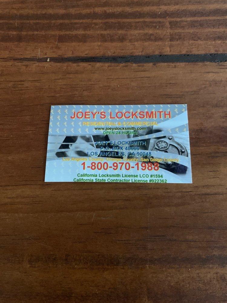 Joey's Locksmith: Commerce, CA