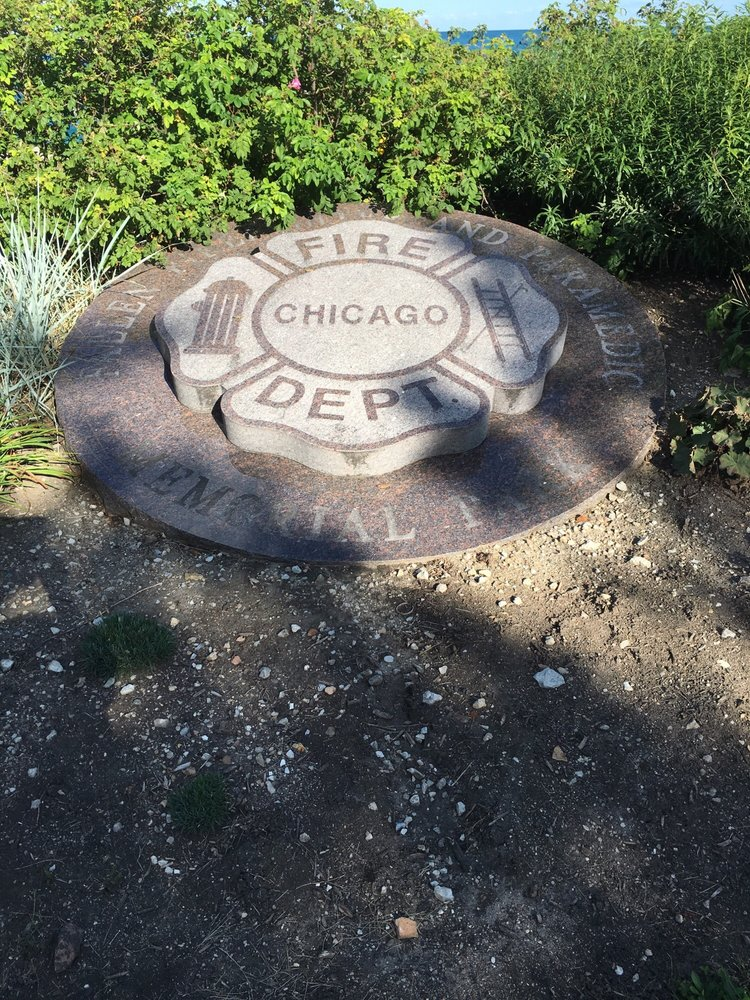The Chicago Fallen Firefighter and Paramedic Memorial Park: 2300 S Ft Dearborn Dr, Chicago, IL