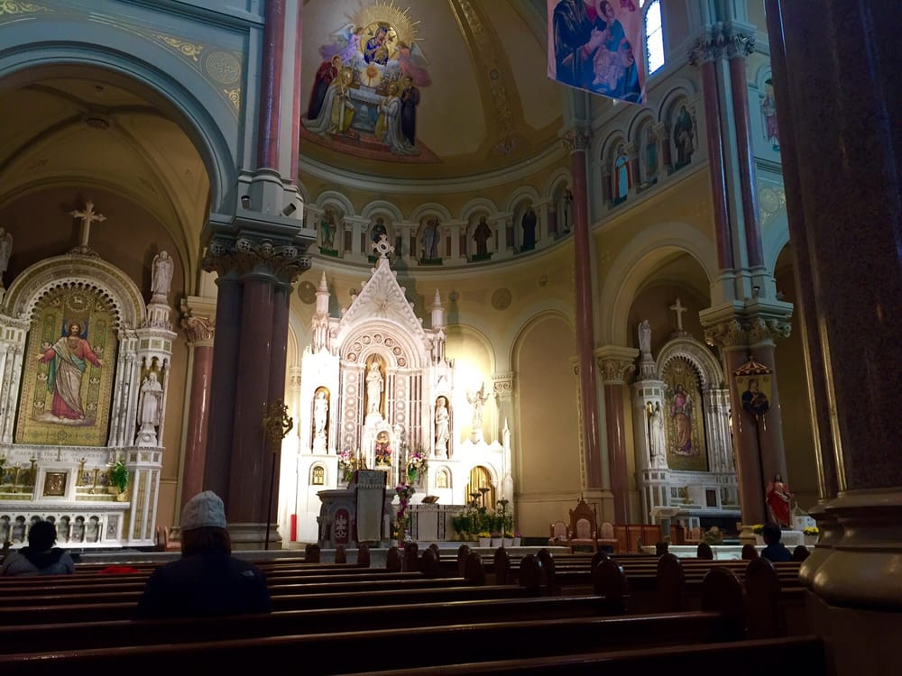 Boston's Basilica of Our Lady of Perpetual Help: 1545 Tremont St, Boston, MA