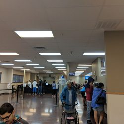 texas drivers license stand in line