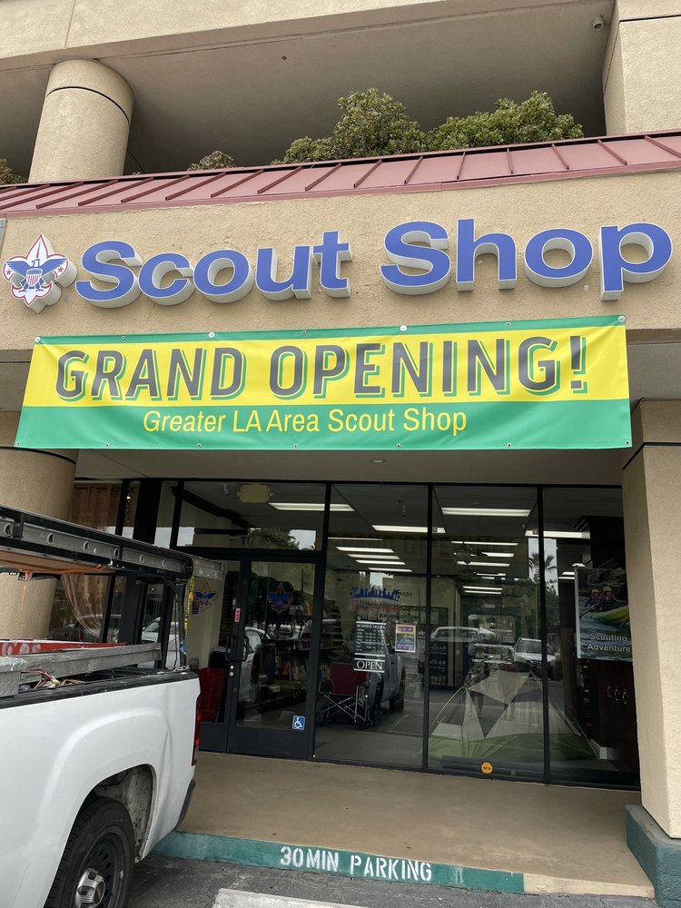 Scout Shop: 411 E Huntington Dr, Arcadia, CA