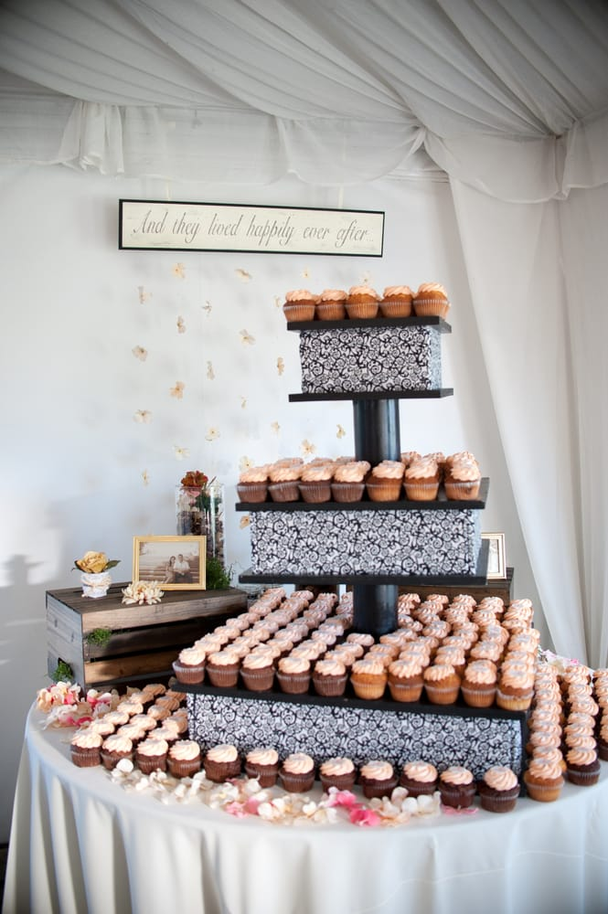 The beautiful display at my wedding reception: 250 delicious ...