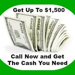need cash today bad credit