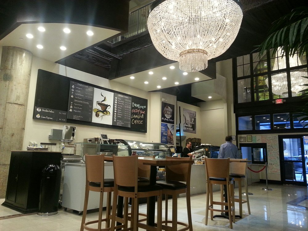 Photo of Lavazza - Atlanta, GA, United States. Just 5 months old, Lavazza is the newest coffee shop on the block and sure to become a regular place for coffee aficionados.