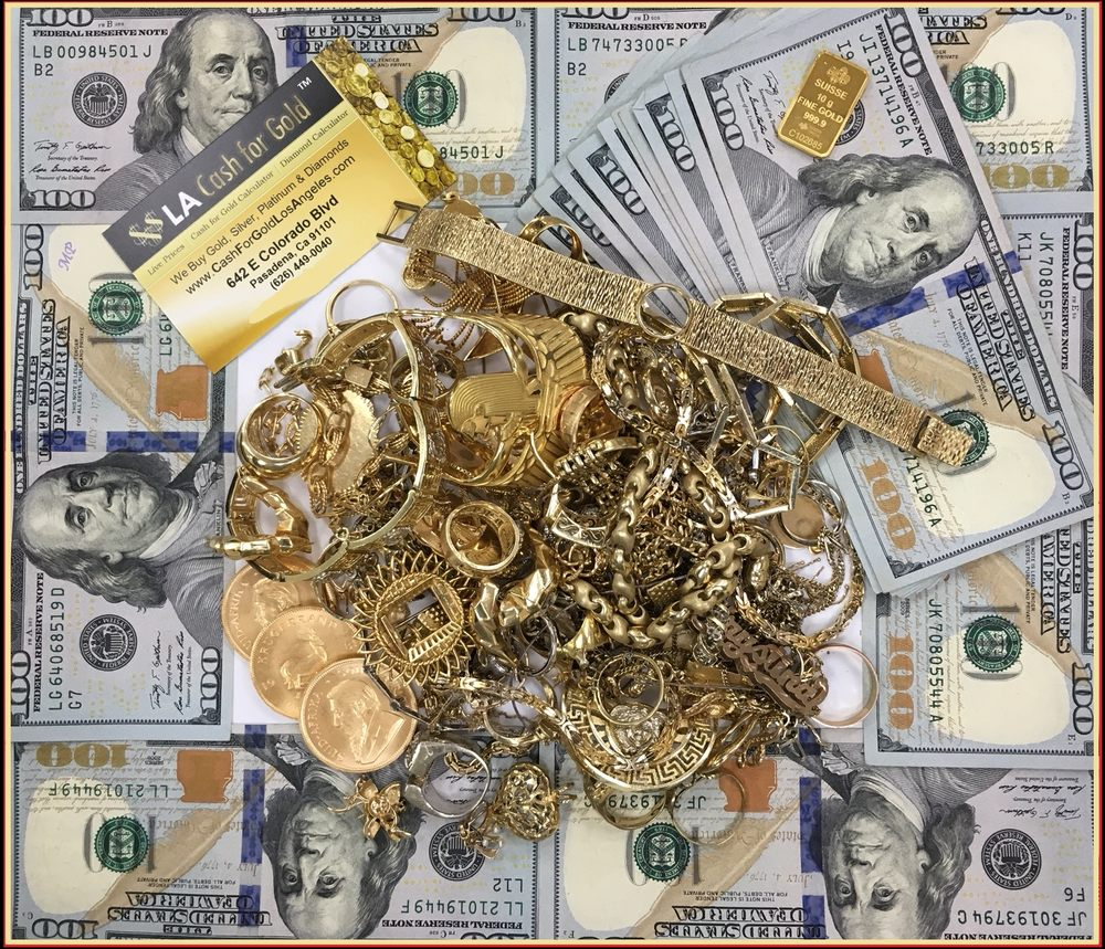 LA Cash For Gold: 642 E Colorado Blvd, Pasadena, CA