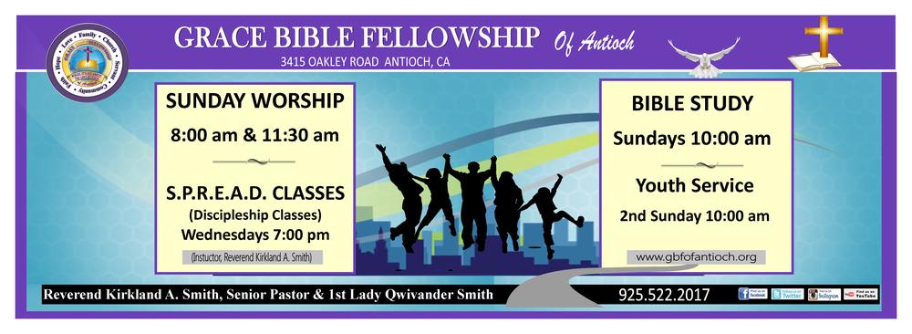 Grace Bible Fellowship Of Antioch: 3415 Oakley Rd, Antioch, CA