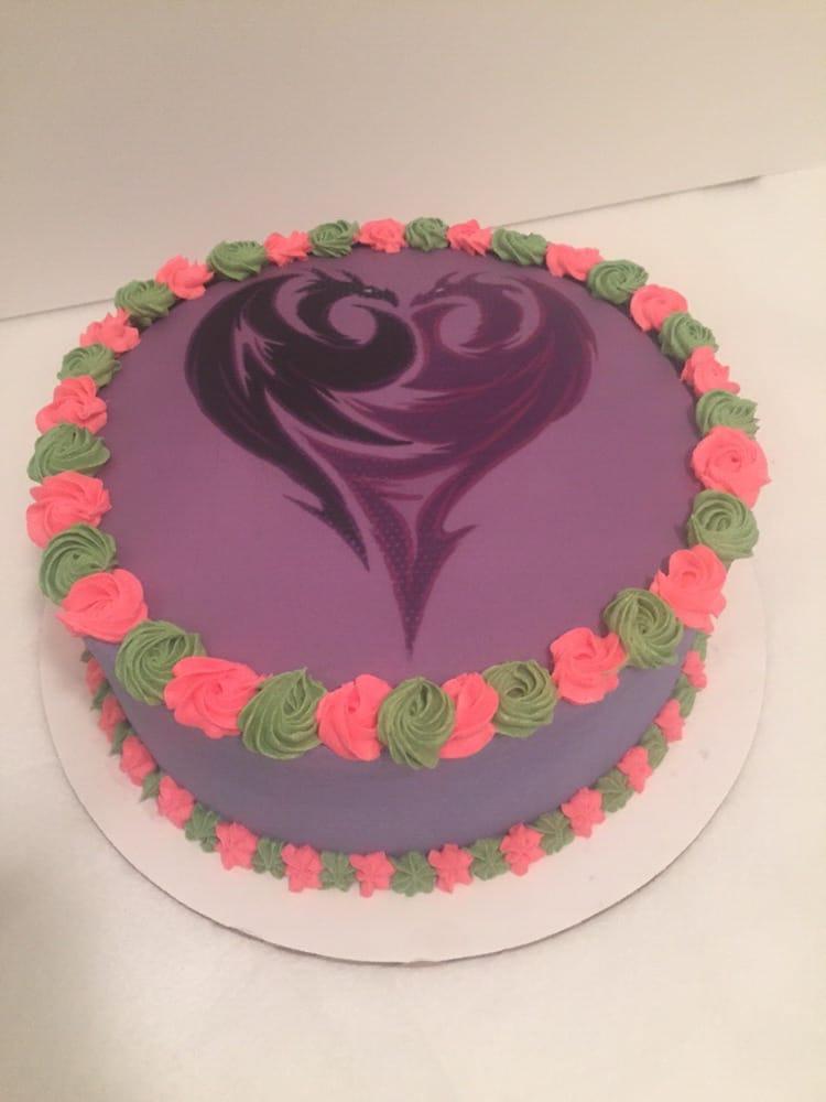 Mal from Disney Descendants cake Yelp