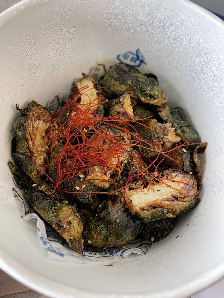 Food from Rakkan Ramen