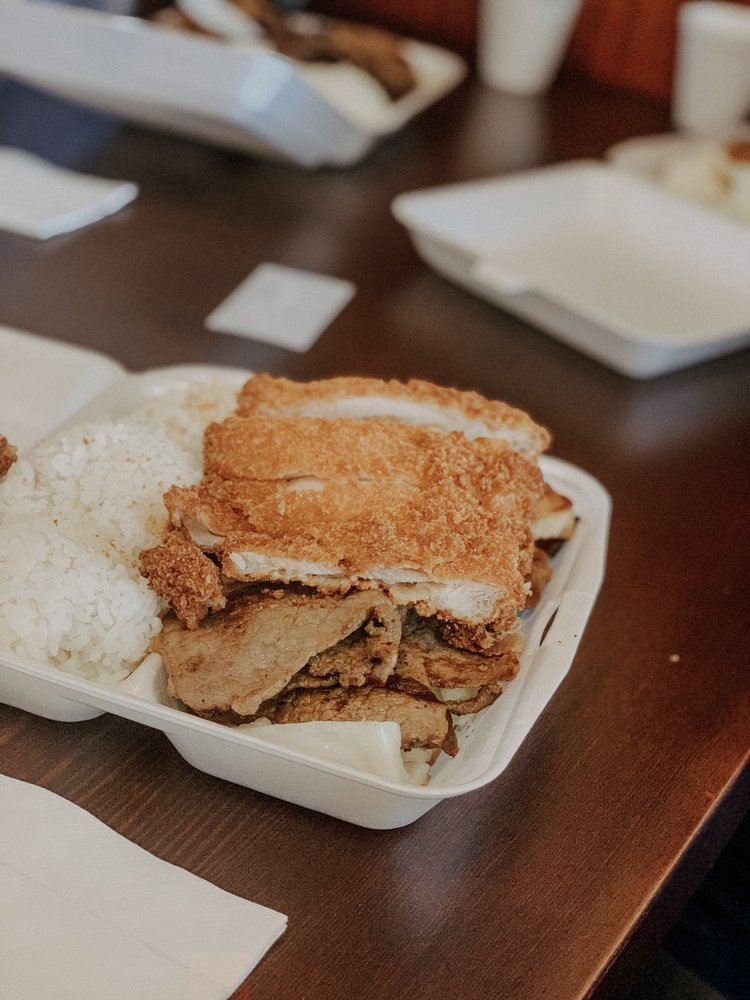 Food from Maika'i Hawaiian BBQ