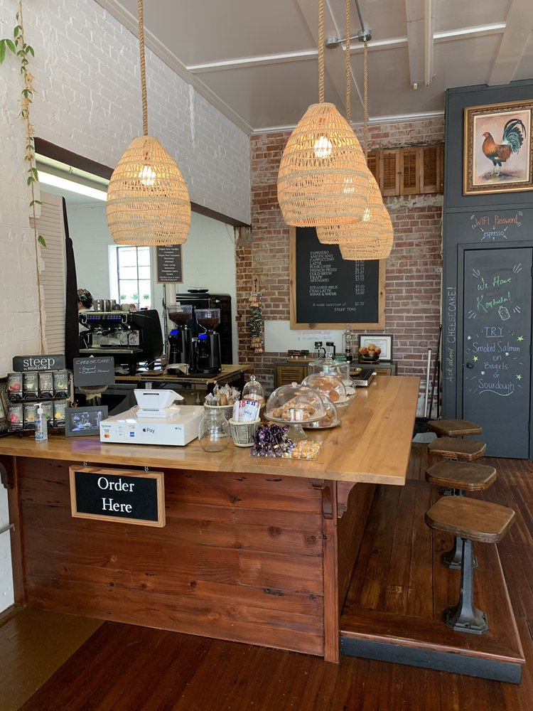 The Studio Gallery & Coffee Bar: 110 Evangeline Blvd, Saint Martinville, LA