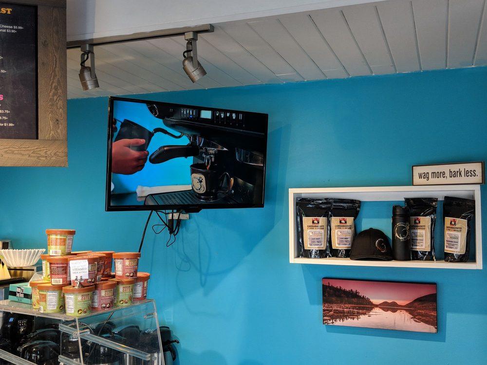 Coffee Hound: 27 B Main St, Bar Harbor, ME