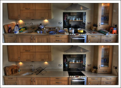 Residential Kitchen Cleaning (Before and After) - Yelp