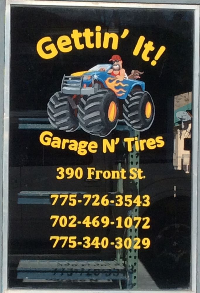 Gettin It Garage N Tires: 370 Front St, Caliente, NV