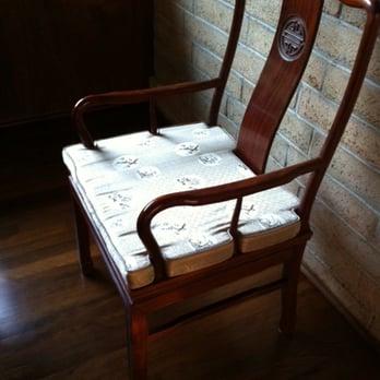 Photo Of Chinese Dynasty Furnishings   Honolulu, HI, United States.  Reversible Cushion On