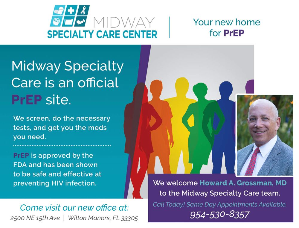 Midway Specialty Care Center - Wilton Manors: 2608 NE 16th Ave, Wilton Manors, FL