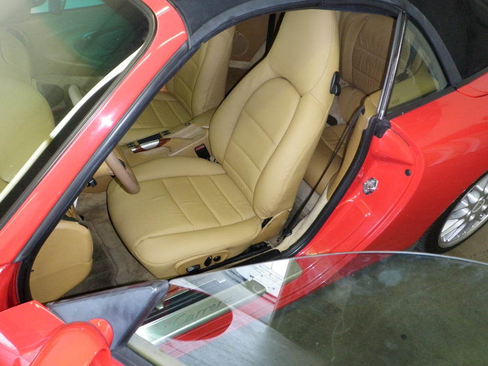 Porsche Leather Interiors, Porsche leather repair, Porsche seats