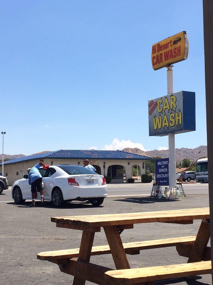 Checkered Flag Car Wash Yucca Valley