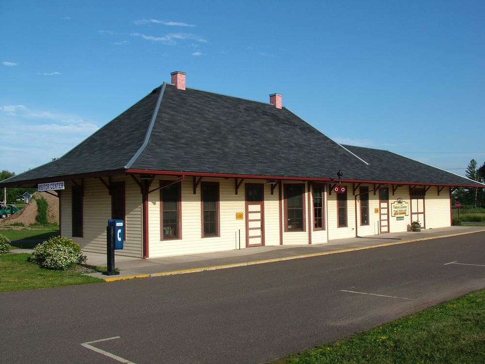 Rusk County Visitors Center: 205 W 9th St S, Ladysmith, WI