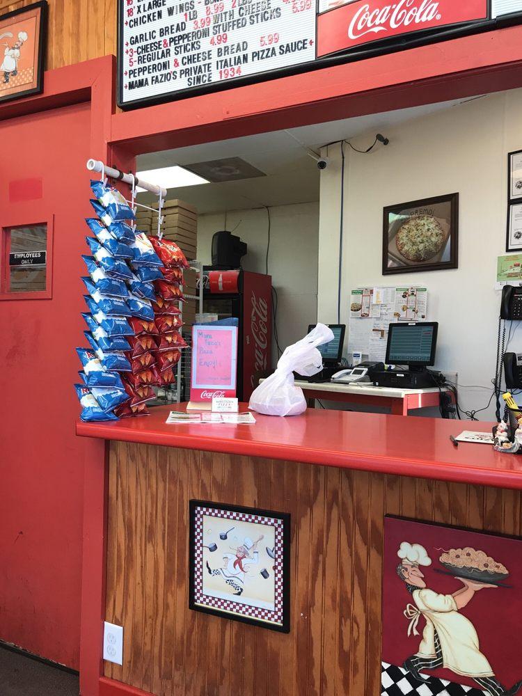 Mama Fazio's Pizza: 127 W Market St, Crawfordsville, IN