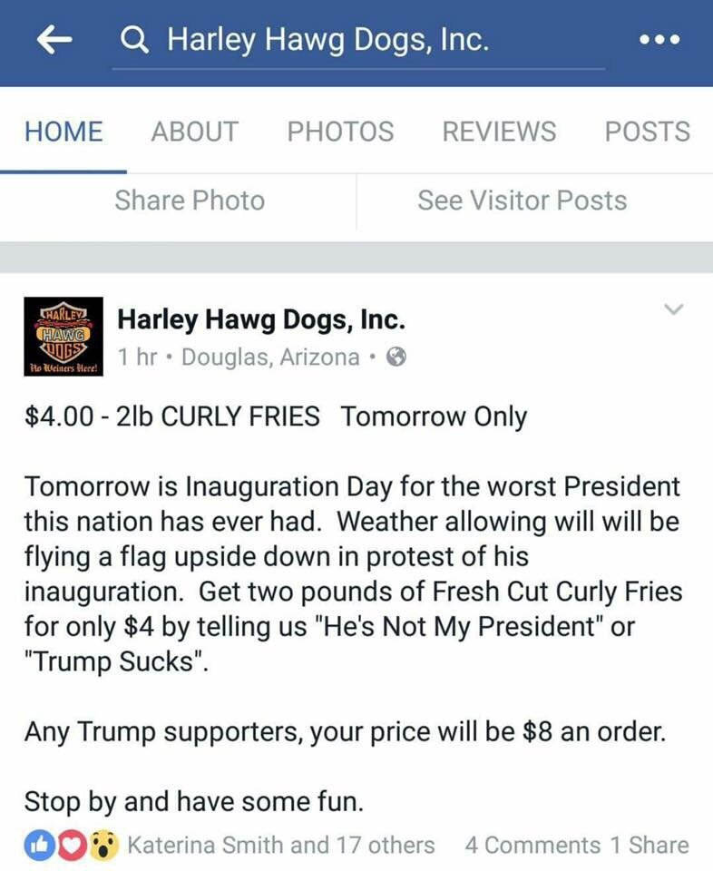 Harley Hawg Dogs