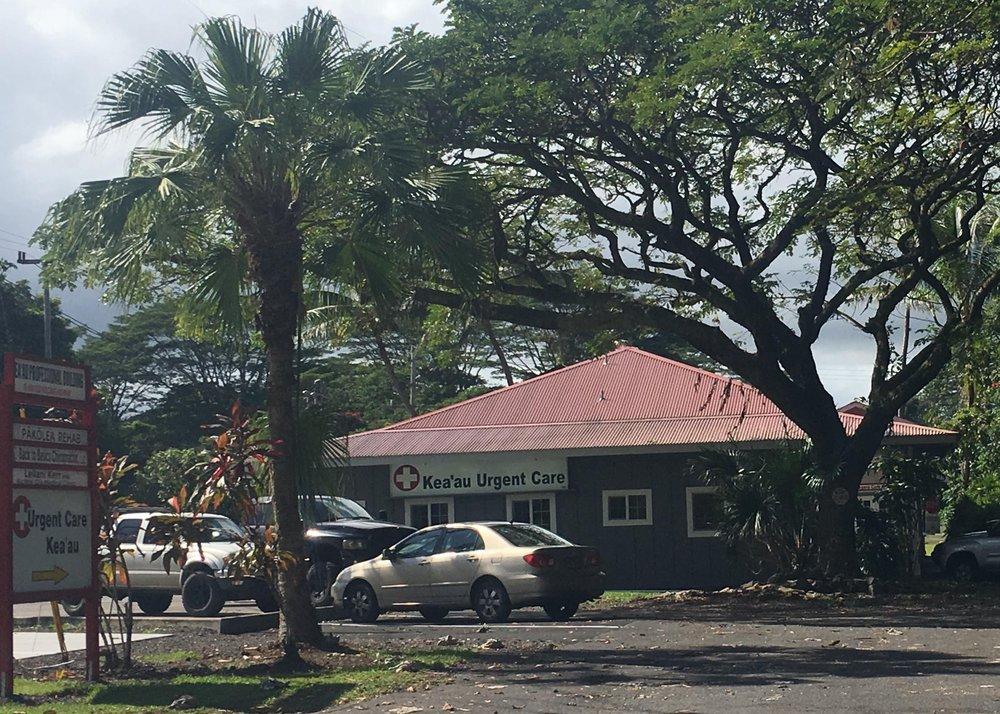 Keaau Urgent Care Center: 16-590 Old Volcano Rd, Keaau, HI