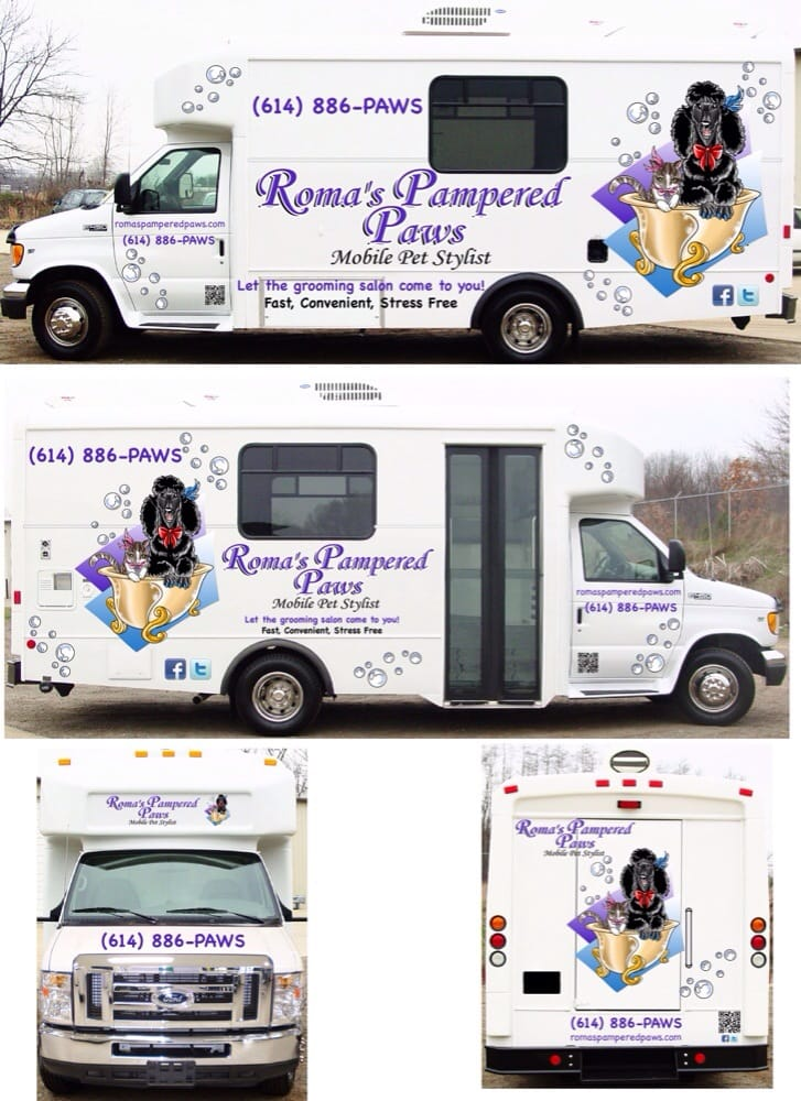 Roma's Pampered Paws Mobile Pet Stylist: Pickerington, OH