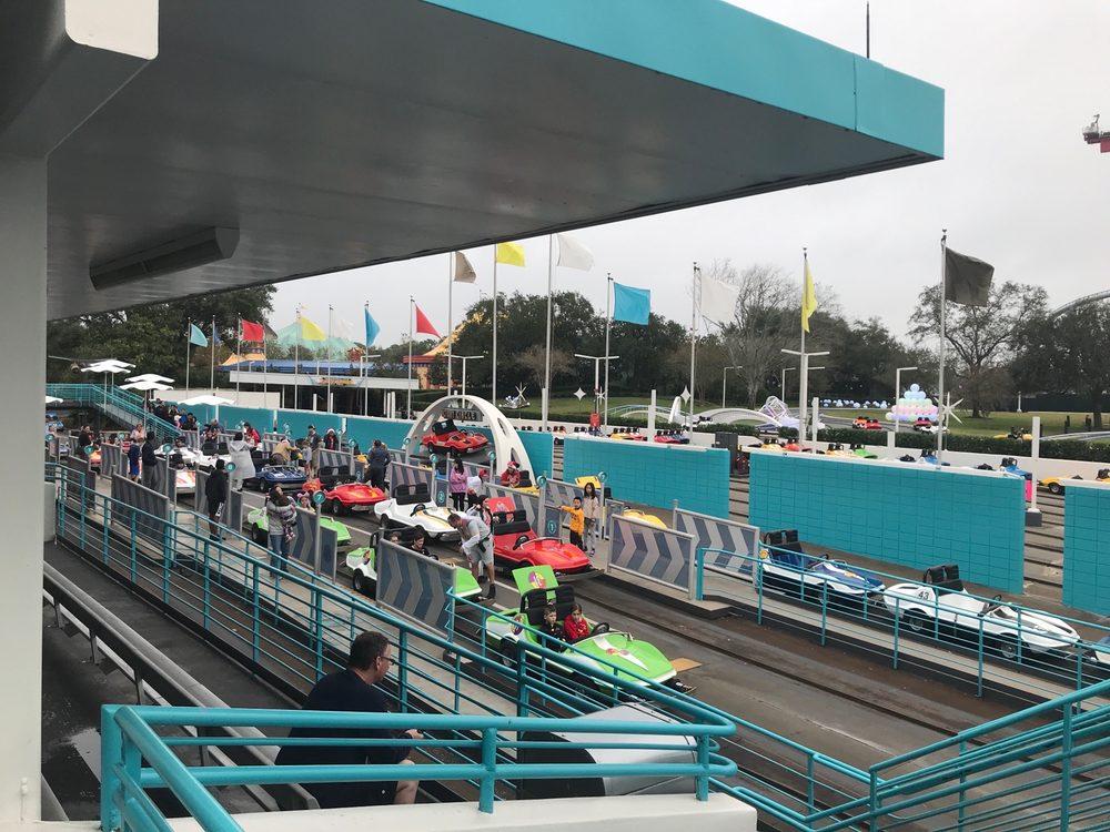 Tomorrowland Speedway: 4720 Caribbean Way, Lake Buena Vista, FL